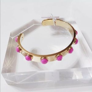 Kate spade tag along/Stackable's, cuff bracelet
